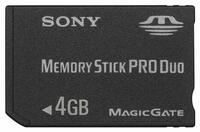 Sony PRO DUO MEMORY STICK 4GB